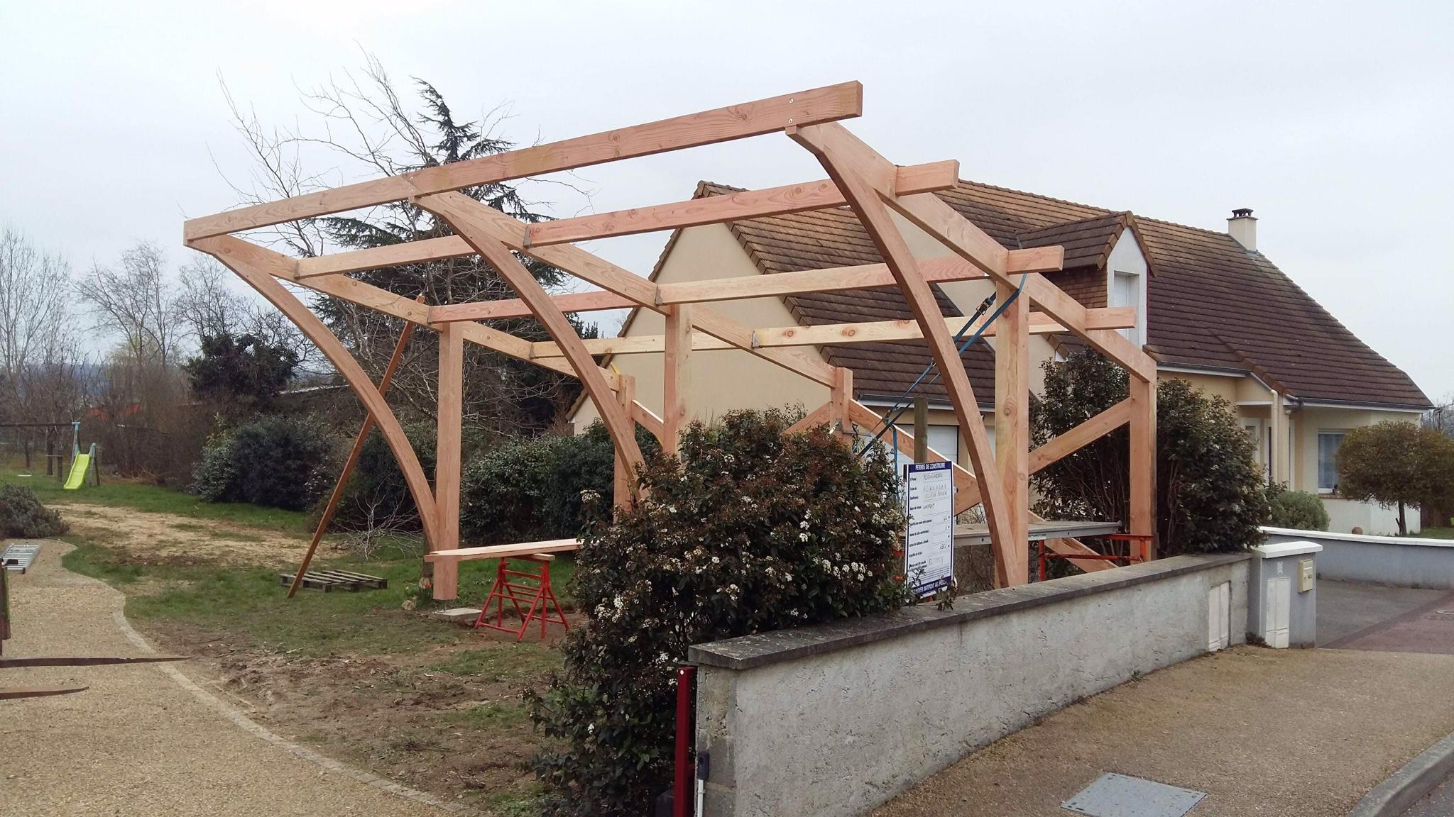 charpente toiture bois le mans ecommoy. Black Bedroom Furniture Sets. Home Design Ideas